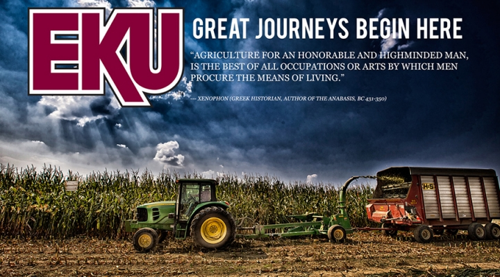 EKU Agriculture graphic