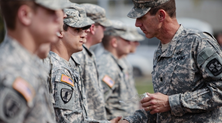 Cadets receive awards from Battalion Commander