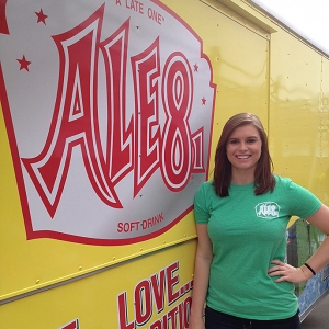 Ashley Robe with Ale-8-One truck