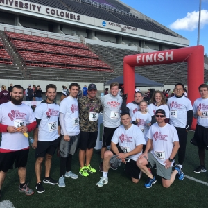 CM team at the Homecoming 5K