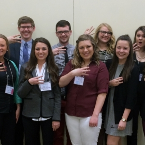 PRSSA Members At GrandSlam Conference