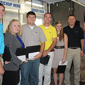 AG scholarship recipients