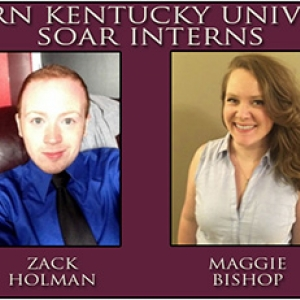 "EKU ""SOAR"" Interns: Erin Deaton, Zack Holman, Maggie Bishop, Alex Jones"
