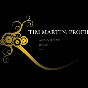 Tim Martin profile graphic